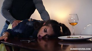 Sexy comprehensive with juicy bubble ass Sofie Reyez gets poked doggy well