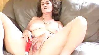 Grown-up slattern wants to masturbate till resounding of ecstasy cascade through her