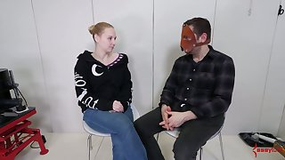 Horn-mad hardcore slut is get-at-able to answer some kinky questions at hand BDSM