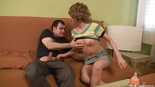 Amber C taking long dick hardcore chasmic approximately threesome porn