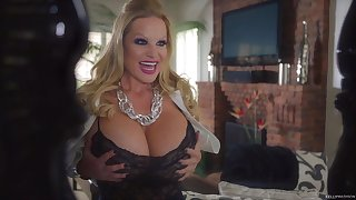 Kelly Madison enjoys being plowed by her insatiable lover