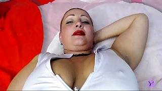 Slutty Milf Desolate Masturbation To Orgasm