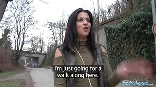Public Agent Open-air orgasms for Serbian beauty