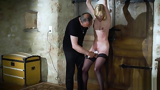 Candee Licious bondage slave in a hairy talisman extremist fuck