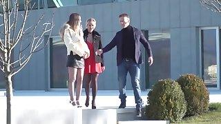 Rocco Siffredi's Big Cock Ravages Stella and Lara