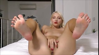 blondie loves spreading say no to legs be worthwhile for you to cum inner say no to