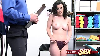 Teen cat burglar loves getting fucked