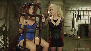 BDSM is amazing experience for lesbians Cherry Torn and Sophia Locke