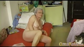 OmaPasS Compilation be fitting of Old Amateur Granny Videos