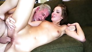 Braces facial daddy coupled with mom fucks guy close to front be required of pal'