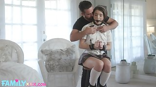 50 shades of kink relating to a sexy coed Megan Minx with the addition of that teen loves dick