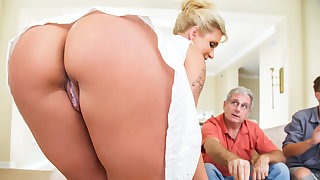 Ryan Conner & Sham Bailey with regard to Take A Seat On My Gumshoe - Brazzers