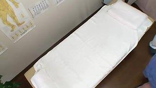 Beautiful Japanese fucked abiding in hidden cam massage video
