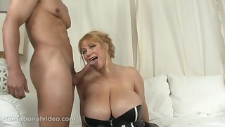 Samantha 38G BBW Sucks Very Well - MILF Babe