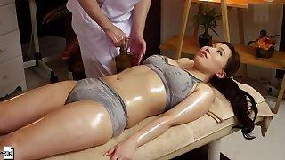 Gorgeous Japanese MILF Ai Sayama anent bizarre porn video anent office